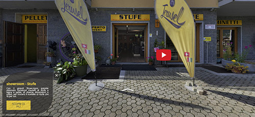 Virtual Tour Stufe E Caldaie A Pellet In Val D'Aosta